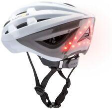 New Lumos Kickstarter Lite Smart Bicycle Helmet Polar White Size Universal 54-62