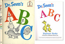 1st edition, 1st printing of Dr. Seuss ABC. Later DJ.