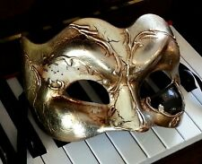 Italian Made Masquerade Mask - OVERNIGHT 2 You - Music Theme Zane Large Fit