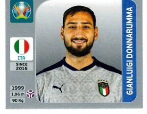 PANINI EURO 2020 PEARL SWISS EDITION FIGURINA N. 12 DONNARUMMA (ITALY) ROOKIE
