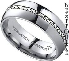 Band Sterling Silver Rings for Men