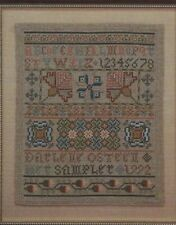 """""""Mary's Sampler"""" DARLENE O'STEEN Just Cross Stitch Leaflet ©1993 OOP Repro Style"""