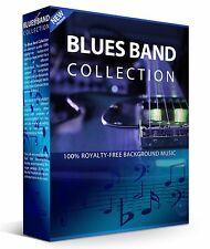 Royalty Free Blues Music on DVD - Over 500 Audio Files Plus Training Manual!
