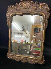 Vintage Antique Decorative European Mirror Very Nice Ca 1890s*