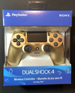 Official Sony PS4 DualShock 4 Wireless Controller v2 [ GOLD Edition ] NEW
