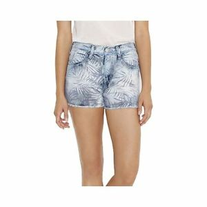 Levi's High Rise Shorts Palm Shadows Juniors Size 15 New Msrp $38.00