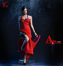 1/6 Ada Wong Dress Set Clothes Accessories For Hot Toys Phicen Female Figure