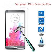 Premium Film Protecteur d'écran en Verre Trempé 9H pour LG G3 G4 G5