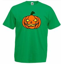 Evil Scary Pumpkin Lantern Party T Shirt Costume Adult Size