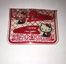 Sanrio Vintage Hello Kitty Red Apple Hair Clip Japan Apple Collectible 1976
