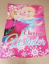 Girls Official Disney Frozen Fleece Blanket /Throw - 150 x 100cm