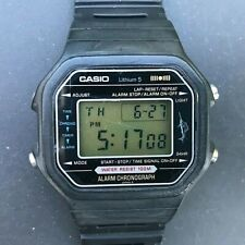 Very Rare 1980 Vintage CASIO H110 (106) MARLIN Japan R 40mm Watch - New Battery
