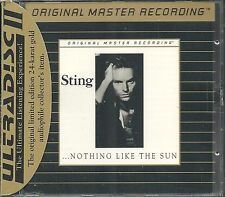 Sting Nothing Like The Sun MFSL Gold CD Neu OVP Sealed UDCD 546 UII mit J-Card