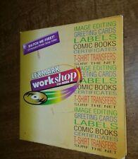 Lexmark Workshop CD-ROM for Photos, T-Shirt, Cards Etc. editing (Win 3.1 & 95)
