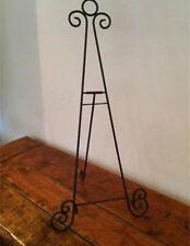 black iron easel 18 inches ornate design vintage wedding table plans displays
