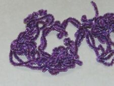 5 Yards Summer Run Purple New Age Crystal Chenille Fly Jig Tying You Pick Size