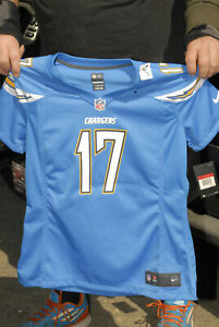 Phillip Rivers Los Angeles Chargers Jersey New Womens Large MINT 9 kids $100 tag
