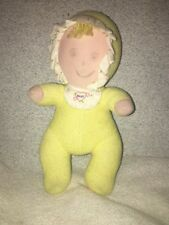 Amtoy BABY SOFTTOUCH First Doll Yellow Terry Cloth Soft Touch Plush Stuffed
