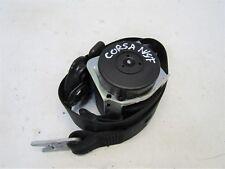 VAUXHALL CORSA D 2006-10 NEARSIDE/PASSENGER FRONT SEATBELT (3DR) 13262566 #6717V