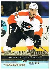 2014-15 UPPER DECK YOUNG GUNS EXCLUSIVES ROOKIE #464 SHAYNE GOSTISBEHERE 064/100