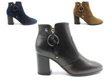 Tronchetto stivaletto donna Nero Giardini stivali sopra la caviglia eleganti