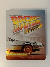 Back To The Future 30th Anniversary Trilogy Blu-ray Target Exclusive Steelbook