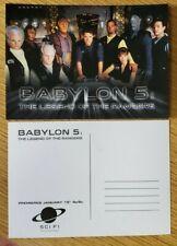 Babylon 5 The Legend Of The Rangers Télévision Séries Promo Carte Postale
