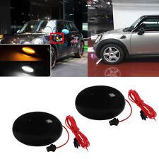 Smoked Switchback Side Marker Amber LED Lights For Mini Gen2 R55 R56 R57 R58 R59