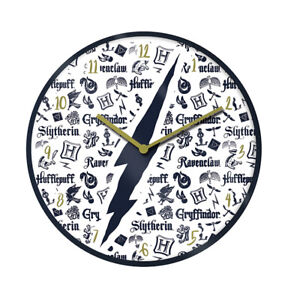 Harry Potter Infographic Wall Clock