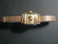 Alte Damen Armbanduhr Emes Monorex 7 Jewels R.W. Rolled Gold