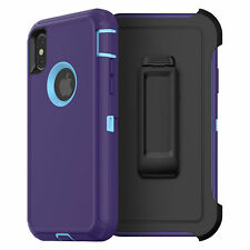 Apple iPhone 7 Plus Heavy Duty Rugged Shockproof Case (Holster fits Otterbox)
