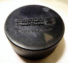 Tamron Adaptall 2 For Olympus OM Rear Lens Cap manual focus 28mm 35-135mm 90mm