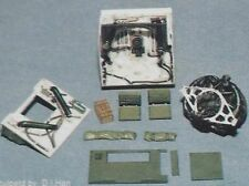 Model Valley M12 Radial Engine and Engine Compartment 1/35 Model Kit