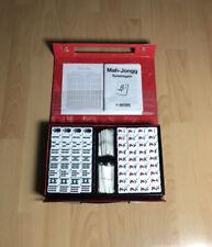 Vintage Mah Jongg - Unbenutzt - 1988 Hartung Spiele Mahjong Chinesisch + Buch