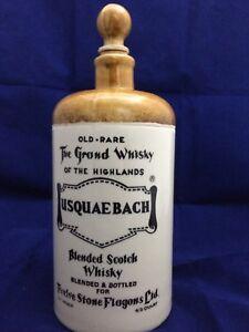 Usquaebach Stoneware Whisky Jug for Twelve Stone Flagons. 4/5 Quart