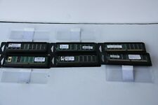 6 x 256MB DDR PC2700 333MHZ DIMM Memory. Kingston / Samsung / MTI (1.5 GB total)