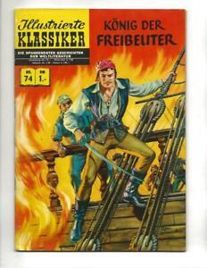 Illustrierte Klassiker #74 1960's German Classics  Illustrated King Of The Pirat