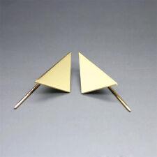GeometricTriangle Earrings Punk Hook Ear Stud Jewelry Party Vintage Accessories Gold