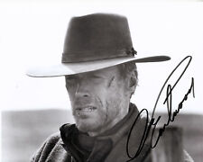 "Clint Eastwood   B&W 8""x10"" Autographed Photo Copy "" Unforgiven "" EAST-X06"