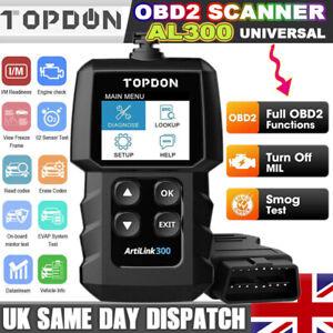 UK Car OBD2 Fault Code Reader Scanner Diagnostic Engine Auto Check Tool Mercedes