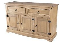 Corona pine home living room furniture 2 drawer 3 door sideboard unit storage-CP