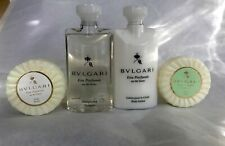 Bvlgari Green and White Tea Soap, Shampoo and Body Lotion