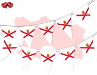 Jersey Full Flag Patriotic Themed Bunting Banner 15 Triangle flags