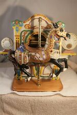 """American Carousel Collection #7126 Musical Signed 13 1/2"""" Tall 4286/4500"""