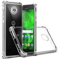 For Moto G6,G6 Play, E5, E5 Play,E5 Plus,E4 Slim Clear TPU Shockproof Case Cover