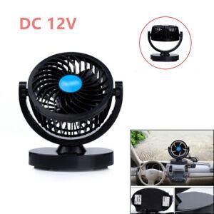3.5'' 12V Powered Car Air Cooling Fan Air Flow Truck Tent RV Sleeper Cab SUV ATV