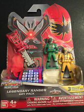 Power Rangers megaforce key set for legendary morpher mystic forces rare set