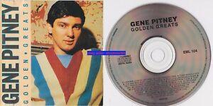 Gene Pitney Golden Greats CD VGC Mega Rare Mainline Australia pressing early 90s
