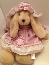 Rabbit Bunny Plush Stuffed Soft Squishy Animal Large Velvet Dress Hat Easter New
