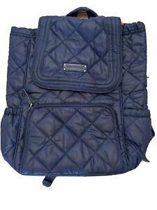 Vera Bradley Nylon Royal Blue Paisley Interior Backpack